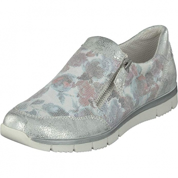 Gosch Relife Damen Slipper off white flower